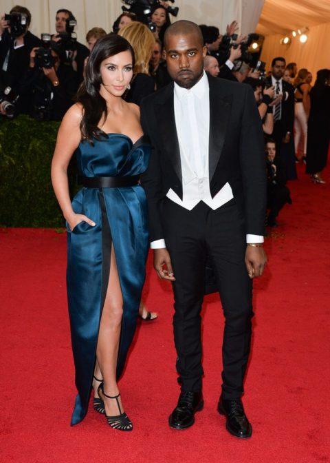 Met Gala 2014 Kim Kardashian Kanye West