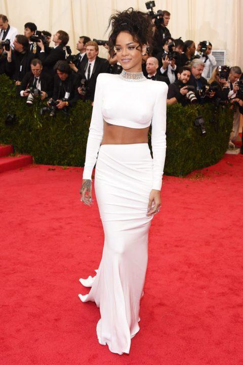 Met Gala 2014 Rihanna