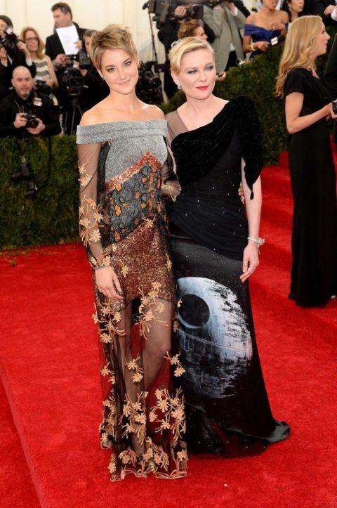 Met Gala 2014 Shailene Woodley Kirsten Dunst