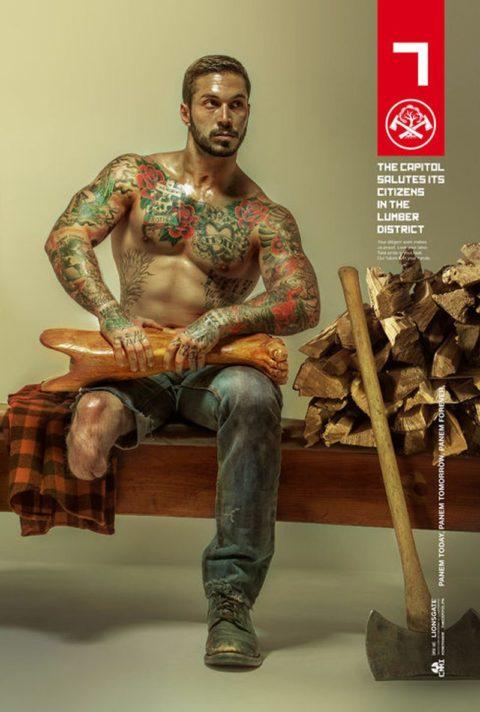 Mocking Jay District 7 Lumber