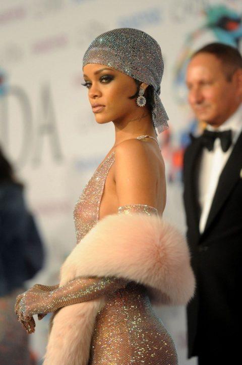 Rihanna CFDA outfit