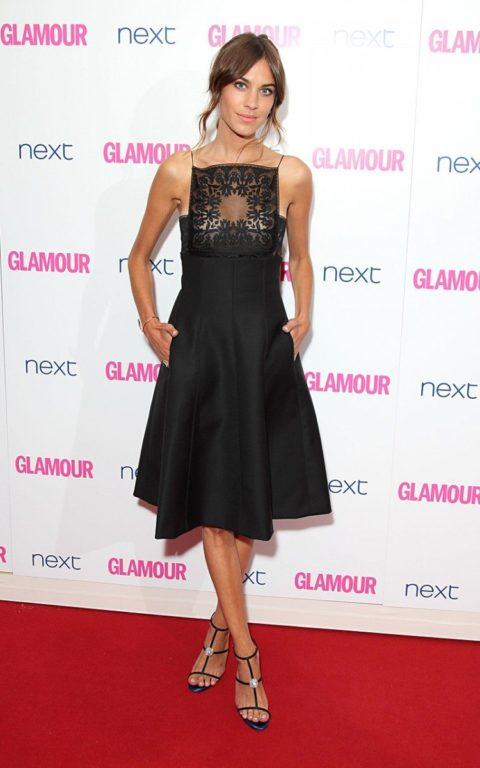 alexa chung glamour of the year awards