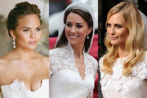 celebrity beauty wedding