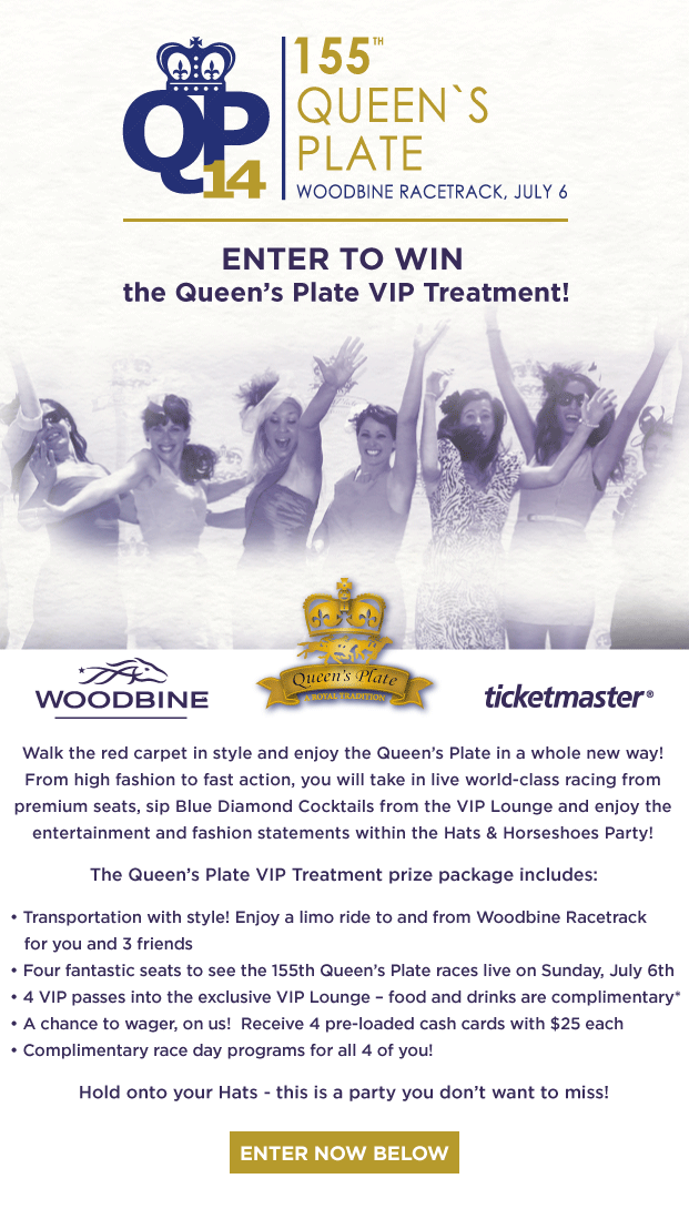 Enter to WIN The Queen's Plate VIP Treatment | FASHION magazine