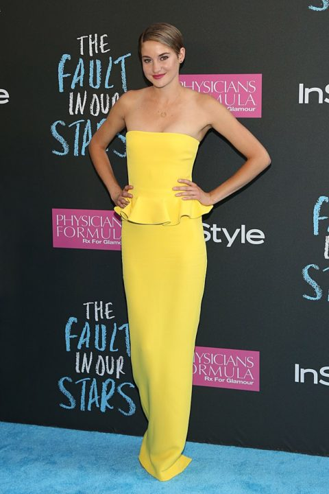 shailene woodley fault in our stars-new-york-premiere