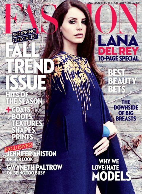 Fashion Magazine September 2014 Lana Del Rey
