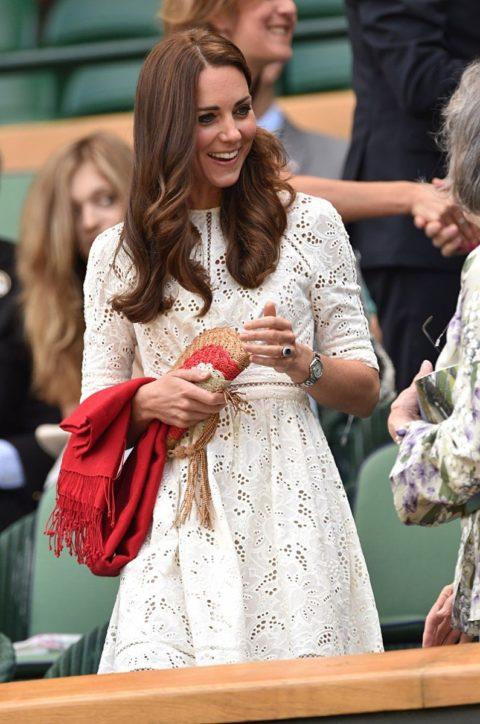 Kate Middleton Wimbledon Zimmermann