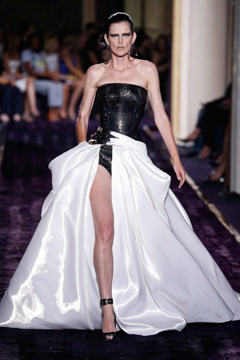 versace atelier fall 2014 couture