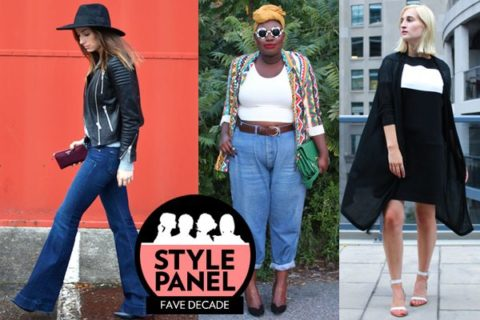 fashion decade style panel