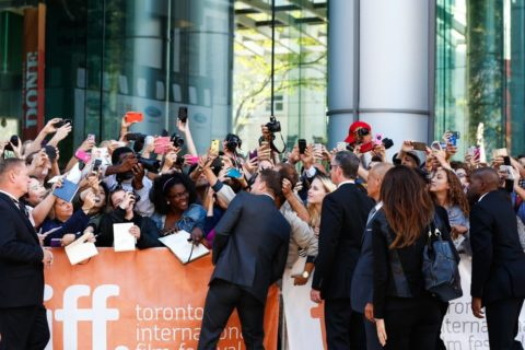 TIFF 2014 Foxcatcher red carpet