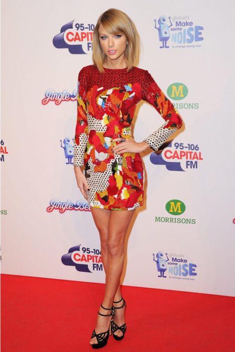 Celebrity Style Taylor Swift Jinge Bell Ball 2014