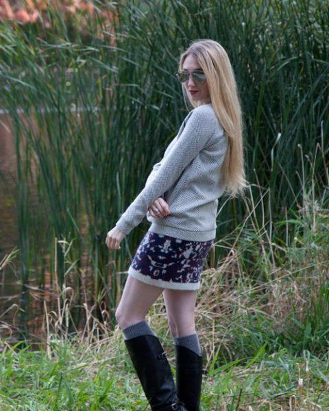 Sweater Dressing Jessica Concannon