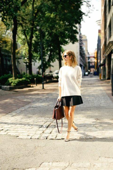Sweater Dressing Jillian Lansky