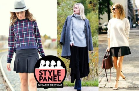 Sweater Dressing Style Panel