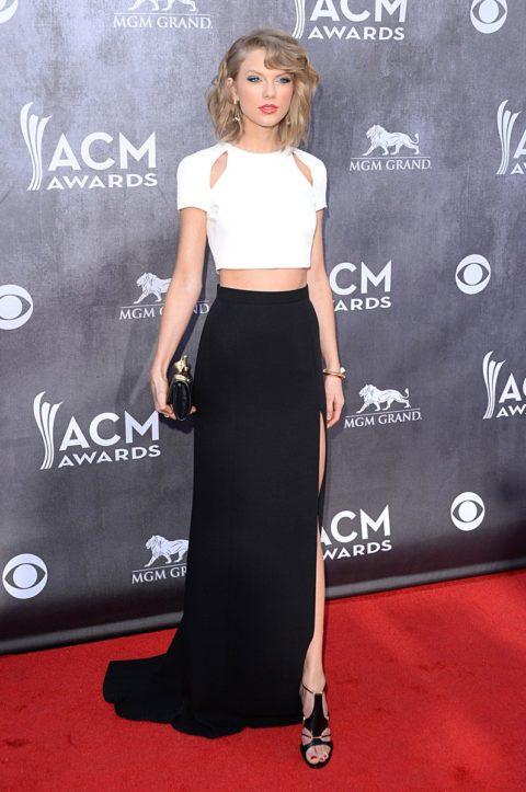 Taylor Swift Fashion ACM Awards 2014