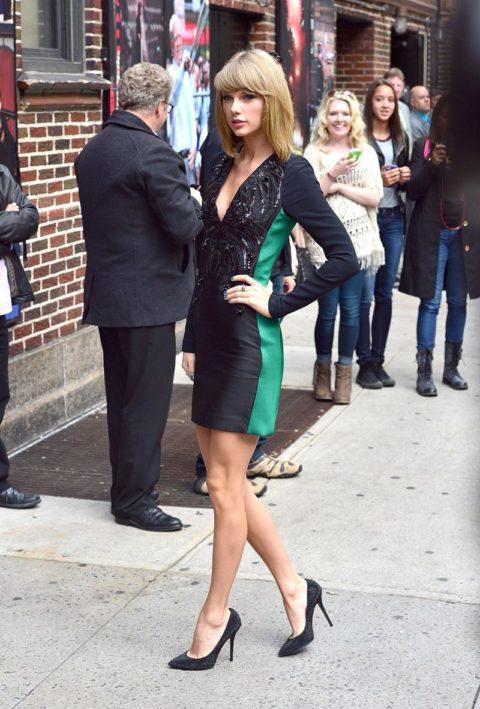 Taylor Swift Fashion David Letterman