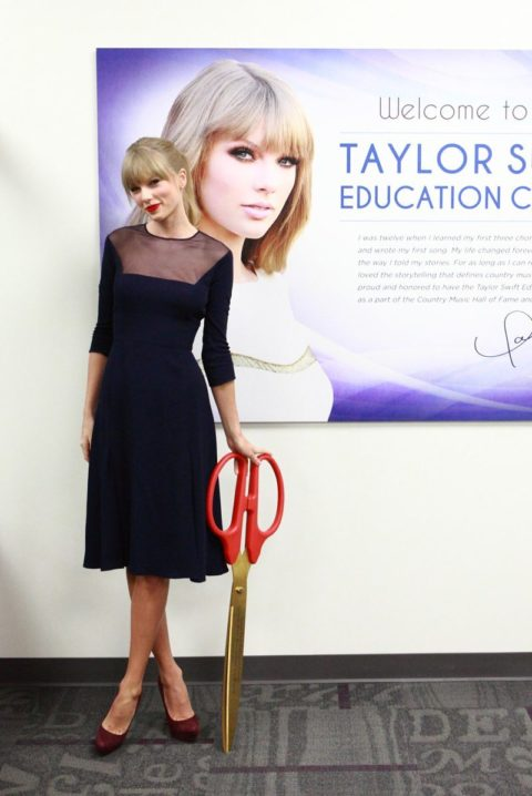 Taylor Swift Fashion Education Centre Opening
