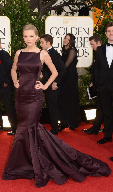 Taylor Swift Fashion Golden Globes 2013