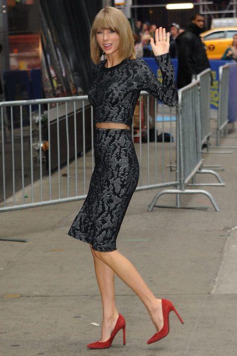 Taylor Swift Fashion Good Morning America 2014