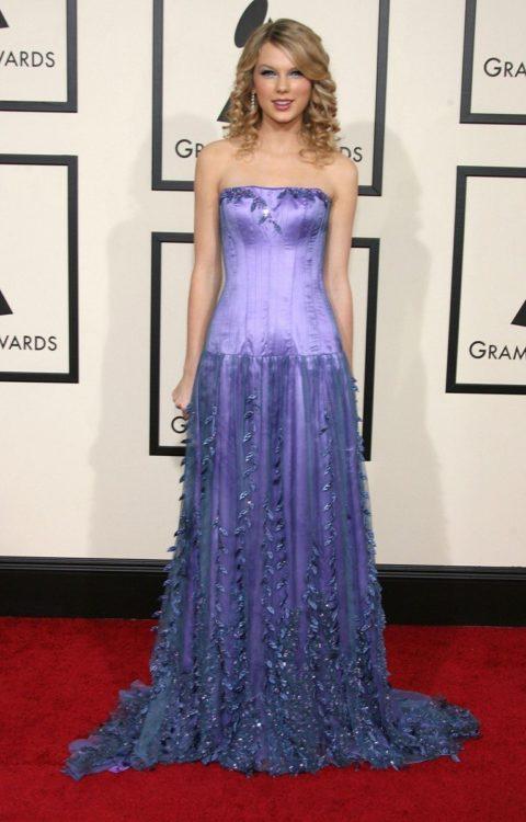 Taylor Swift Fashion Grammys 2008