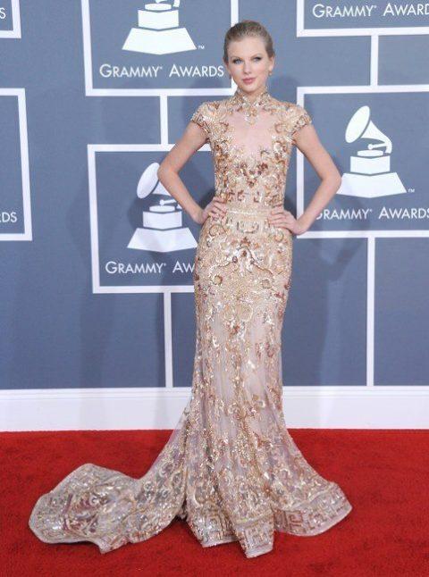 Taylor Swift Fashion Grammys 2012