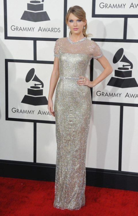 Taylor Swift Fashion Grammys 2014