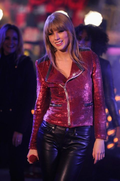 Taylor Swift Fashion New Years Eve 2013