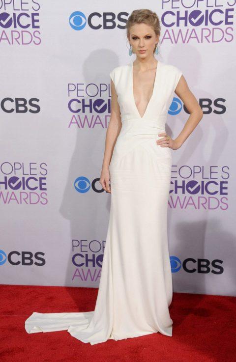 Taylor Swift Fashion Peoples Choice Awards 2013