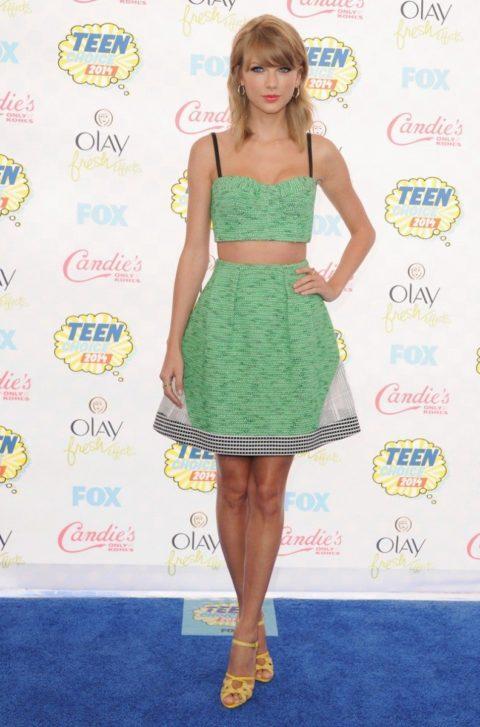 Taylor Swift Fashion Teen Choice Awards 2014