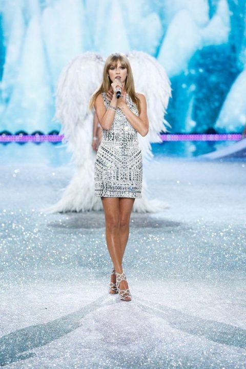 Taylor Swift Fashion Victorias Secret Fashion Show 2013