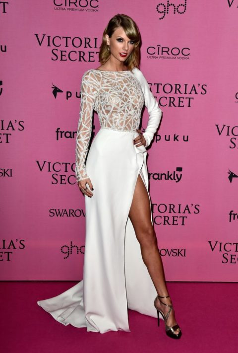 Taylor Swift Victoria's Secret after party 2014