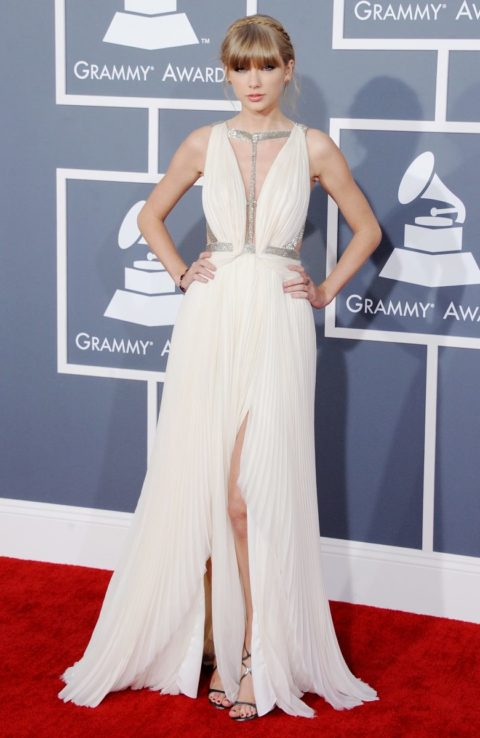 Taylor Swift fashion Grammys 2013
