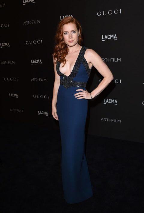 Celebrity Style Amy Adams LACMA Gala 2014