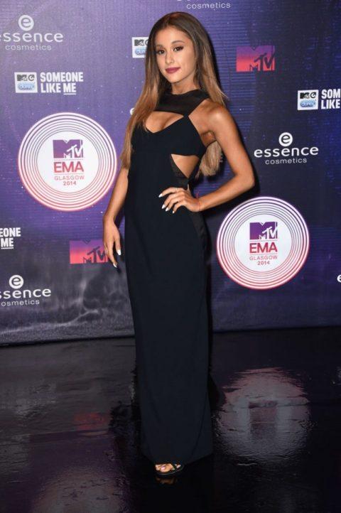 Celebrity Style Ariana Grande MTV EMA 2014