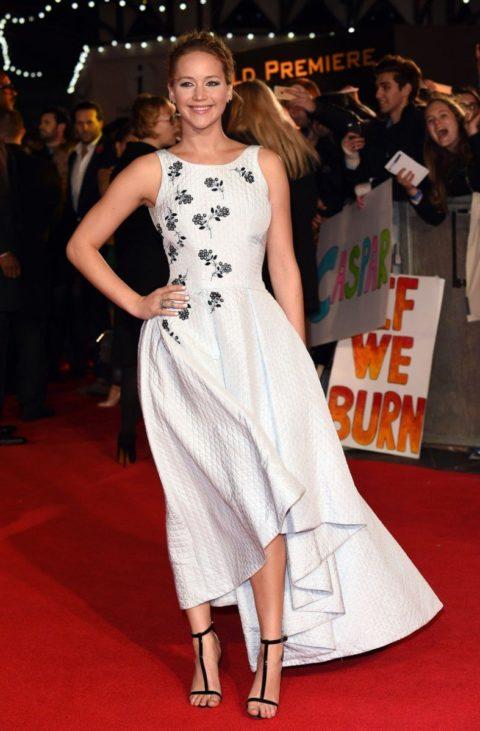 Celebrity Style Jennifer Lawrence Mockingjay Part 1 Premiere