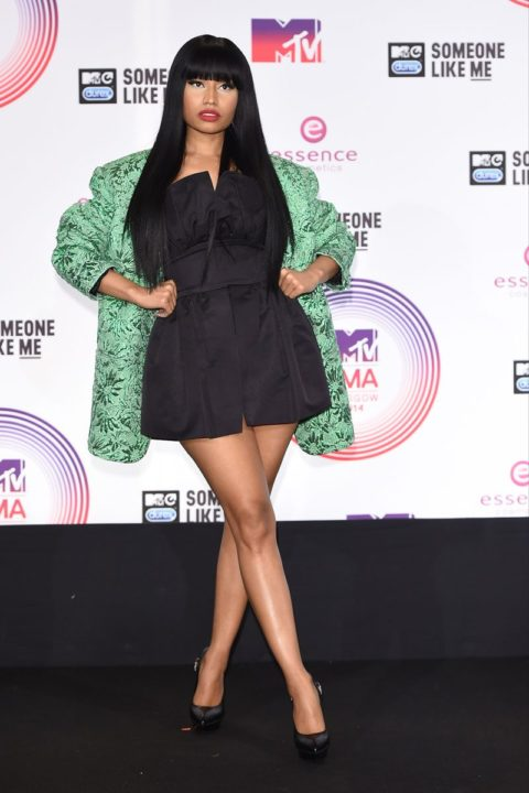Celebrity Style Nicki Minaj MTV EMA 2014