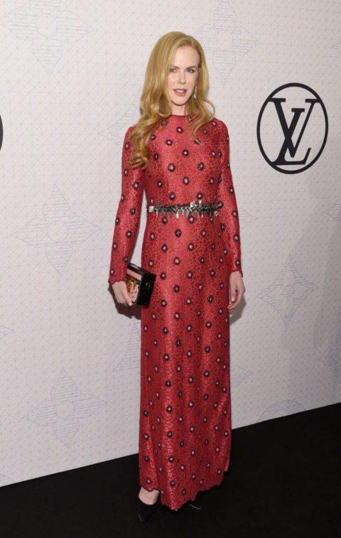 Celebrity Style Nicole Kidman Louis Vuitton Monogram
