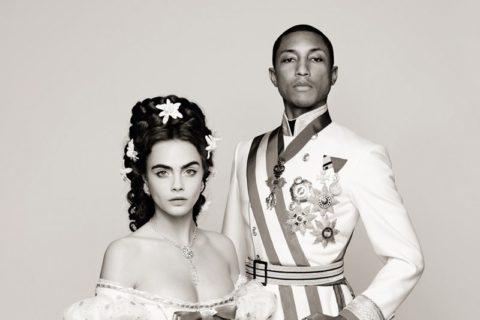 Chanel Cara Delevingne Pharrell Williams