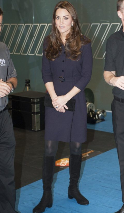 Kate Middleton Fashion SportsAid Visit