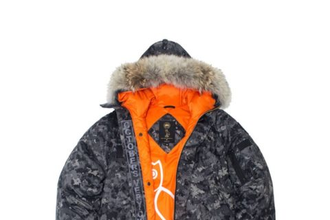 canada goose and OVO 2014 collab