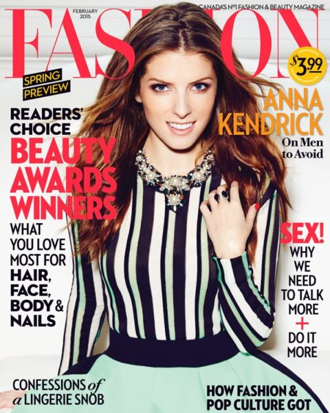 Fashion Magazine February 2015 Anna Kendrick