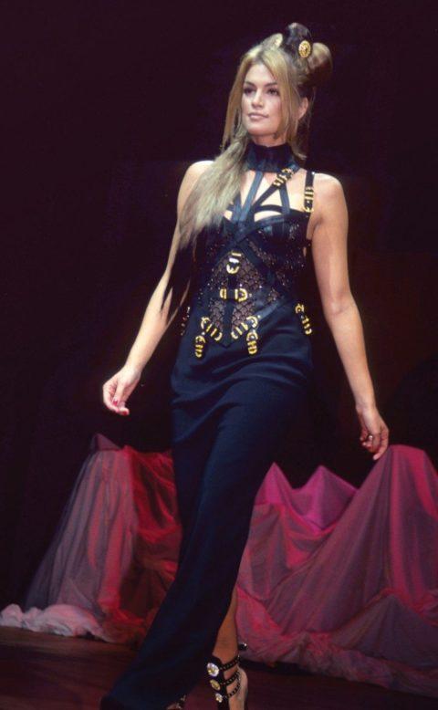 Cindy Crawford Versace 1992