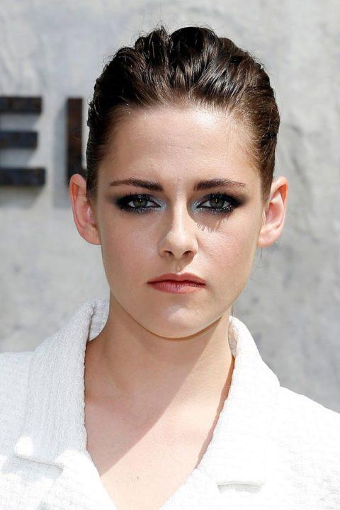 Celebrity Beauty -- Glossy Eyelids