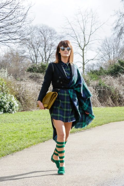 fall 2015 top 10 trends blanket street style