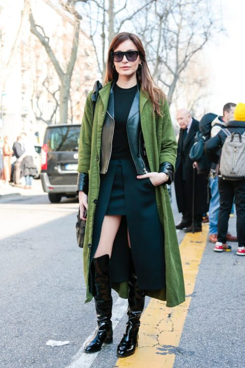 fall 2015 top 10 trends layering street style