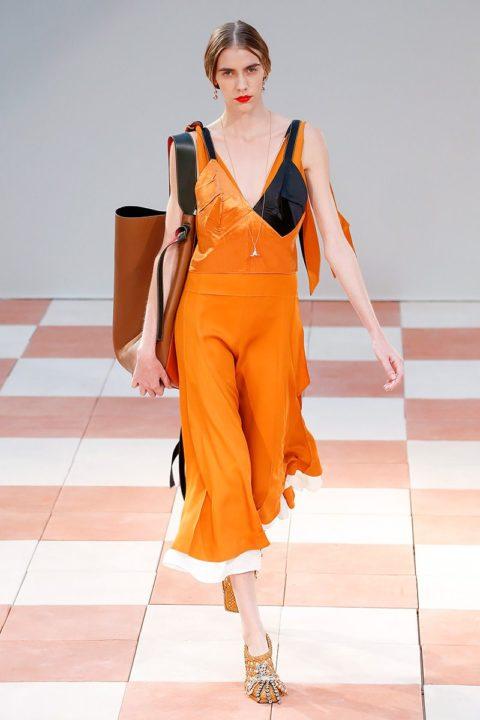 fall 2015 top 10 trends orange celine