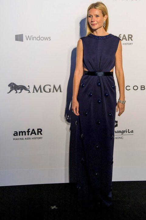 gwyneth paltrow amfar gala hong kong