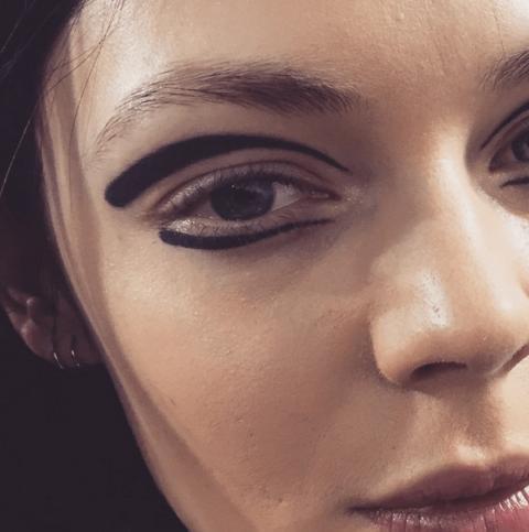 Paris Fashion Week beauty face art fall 2015