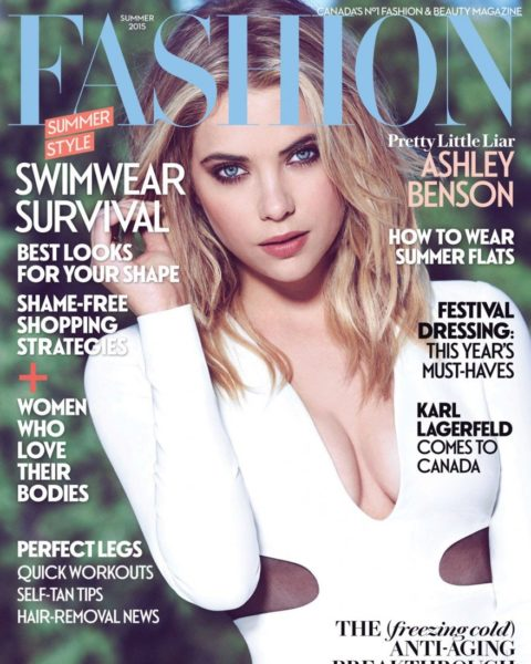 Fashion Magazine Summer 2015 Ashley Benson