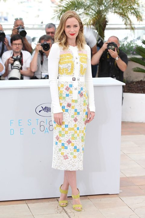 cannes 2015 emily blunt sicario photocall